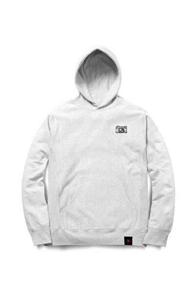 Laak Unisex Bebek Beyaz Sweatshirt