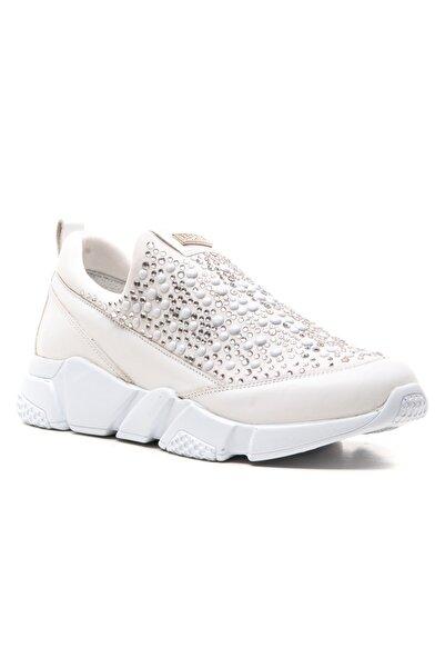 Ferre Kadın Beyaz Collezione Günlük Ayakkabı Inci