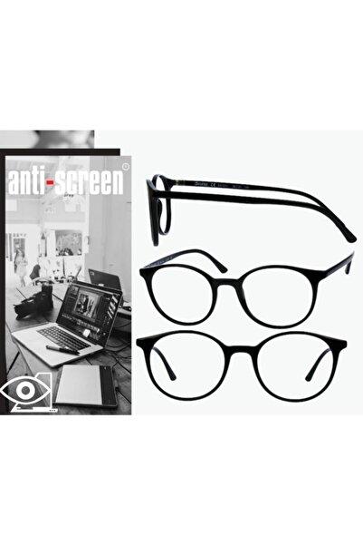 Anti Screen Unisex Siyah Bilgisayar Ekran Gözlüğü