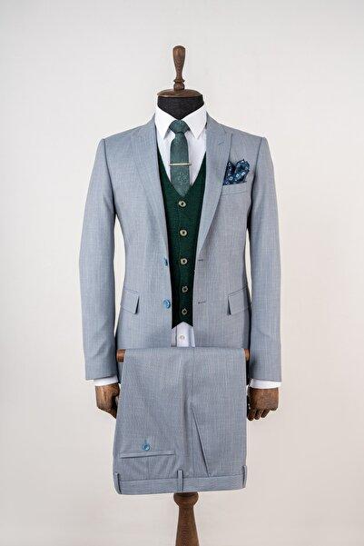 Sarar Erkek Ccs Lınz Mavi Takım Elbise