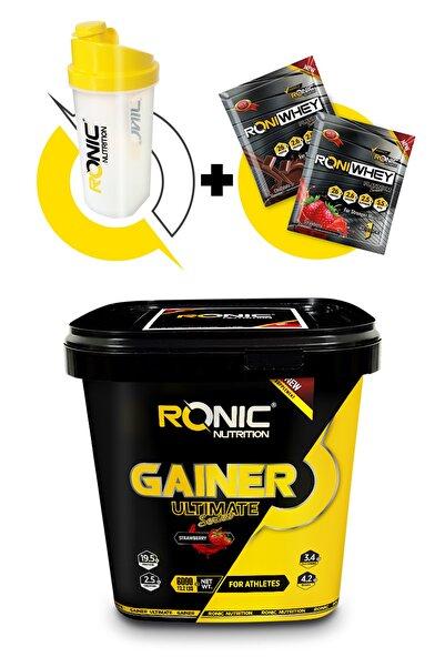 Ronic Nutrition Gainer Ultimate 6000 G Kilo Almaya Yardımcı Karbonhidrat Tozu (çilek Aromalı)