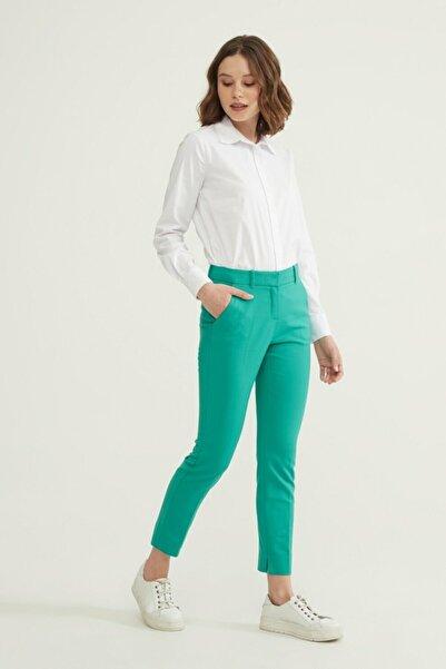 adL Kadın Yeşil Cepli Pantolon 15326539089009