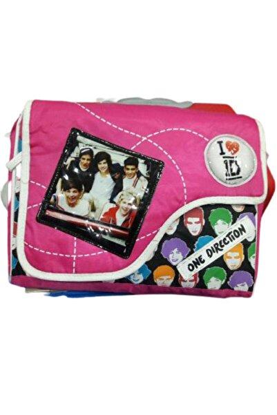 Hakan Çanta One Direction Pembe Postacı Çanta
