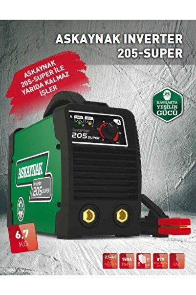 Askaynak Inverter 205 Süper Kaynak Makinası
