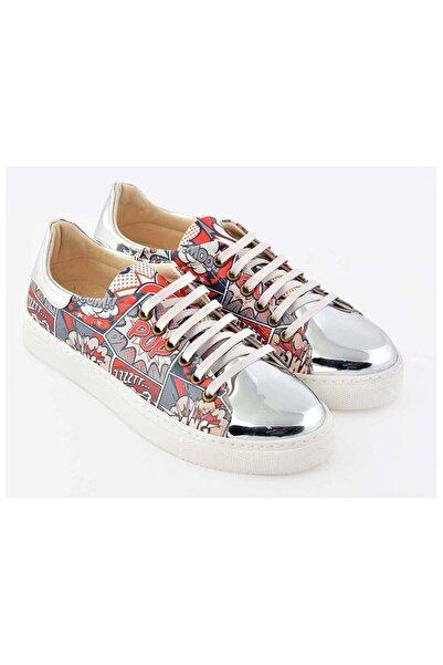 Goby Özel Tasarım-baskılı-çizgi Roman Desenli Sneaker
