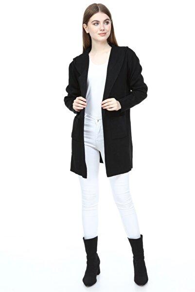 Fashion Friends 9k0315b1 Kadın Hırka Siyah