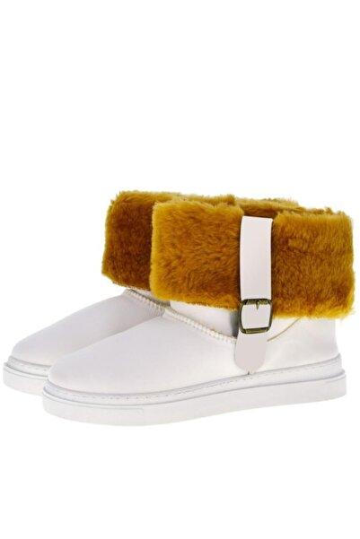 Antarctica Boots Dalgıç Kumaş İçi Kürklü Beyaz Kadın Bot Gınw-00001