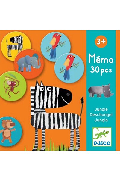 djeco Hafıza Oyunları / Memo Jungle