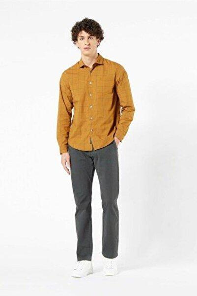 Dockers Erkek Sarı Gömlek
