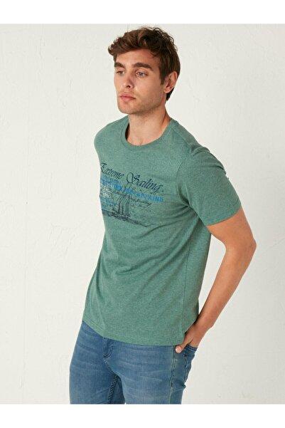 LC Waikiki Erkek Yeşil Tişört
