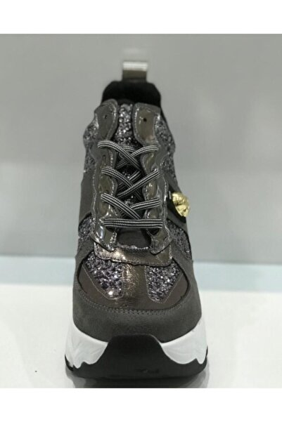 Santa Barbara Polo & Racquet Club Kadın Gümüş Sneakers Ayakkabı