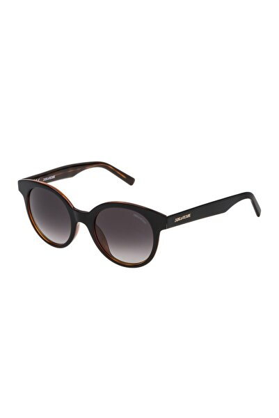 Zadig&Voltaire Unisex Kahverengi Güneş Gözlüğü Szv097 5009tc