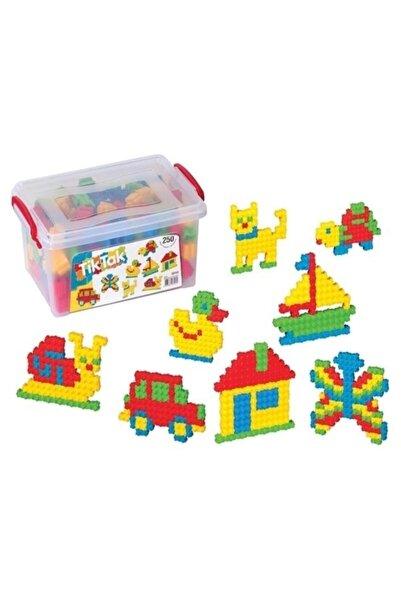DEDE Tik Tak 250 Parça Eğitici Lego Bloklar 3153