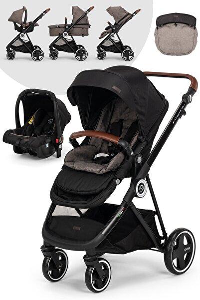 Elele Ranger 2 Travel Sistem Bebek Arabası Siyah