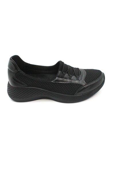 MT Kadın Sıyah Ayakkabı Zenne M&t Spor 1100