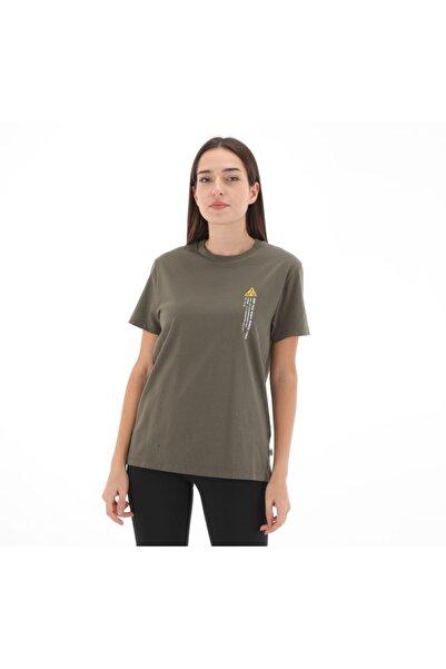 Vans 0a4scxkcz1-r 66 Supply Bf Crew Kadın T-shirt Kahve