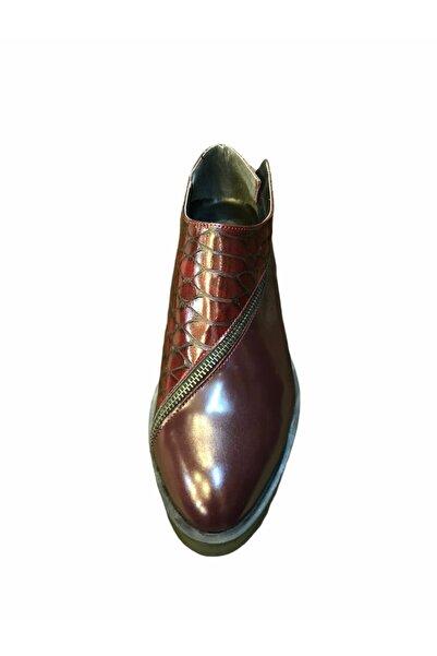Dıvarese Kadın Timsah Deseni Ayakkabı