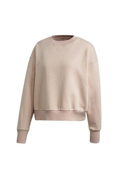 adidas Kadın Pembe Sweatshirt Fu0719-k