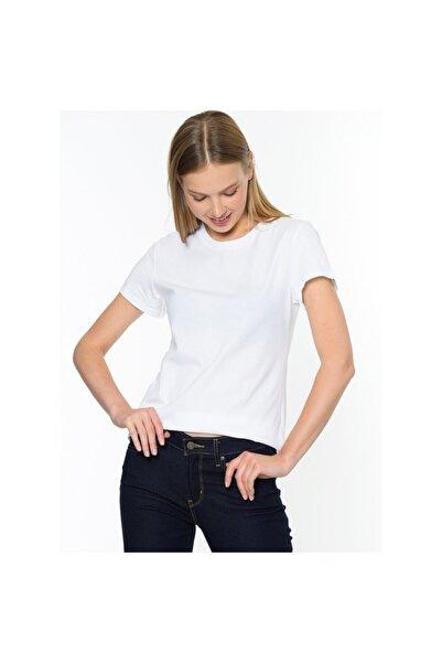 Levi's Kadın Beyaz The Perfect Tişört 17369-0389