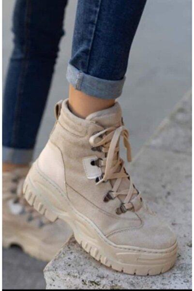 Şanlı Kadın Ayakkabı Bağcıklı Bot