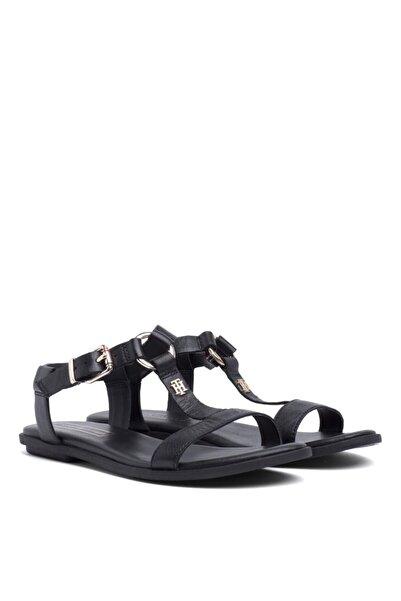 Tommy Hilfiger Kadın Siyah Sandalet
