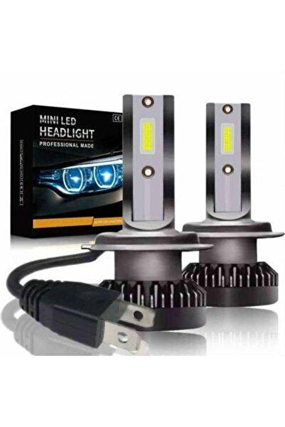 BALP H1 Mini Led 2 Adet Şimşek Etkili Led Zenon 8000 Lümen 23w Beyaz Işık Zenon