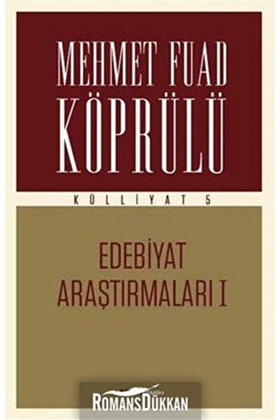 Alfa Yayınları Edebiyat Araştırmaları 1