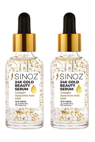SİNOZ 24K Gold Beauty Serum 2'li Altın Fırsat Paketi 8681957333336