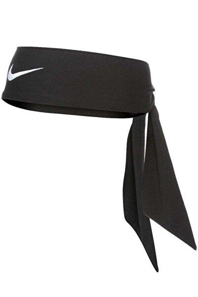 Nike Siyah Dry Head Tie Tenis Kafa Bandı