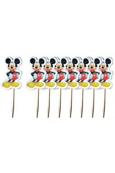 Mickey Mouse Doğum Günü Parti Kürdan Sunum Kürdanı 20 Adet