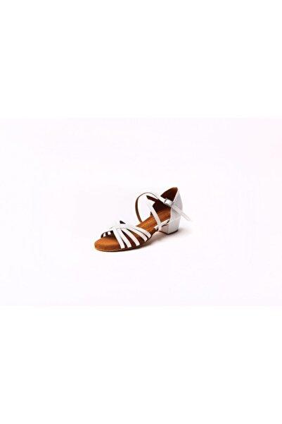DANS AYAKKABISI Kadın Beyaz Klasik Topuklu Ayakkabı