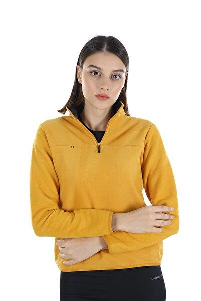 Diandor Kadın Hardal Yarım Fermuarlı Polar 21w42000001