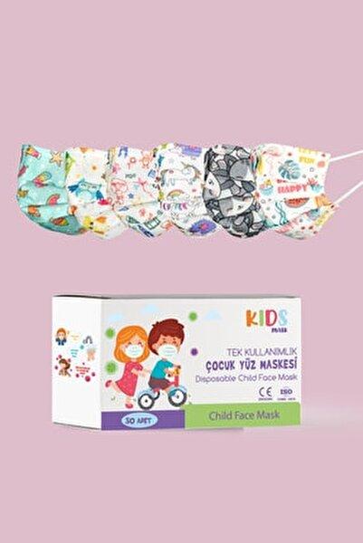 Kız Çocuk Medikal Maske 50 Adet
