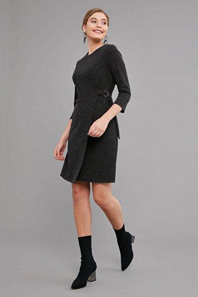 Journey Kadın Siyah Elbise