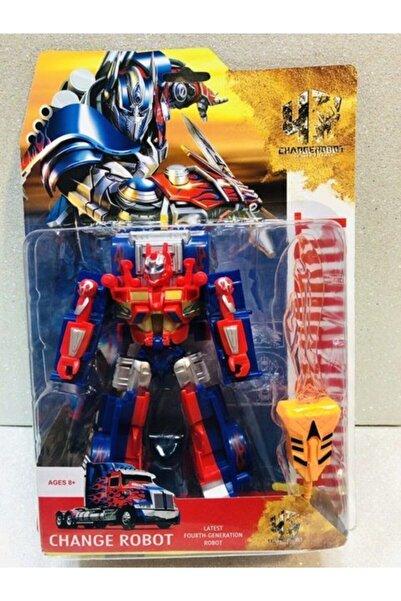 DLN Transformers Optimus Prime Dönüşen Oyuncak Robot Araba