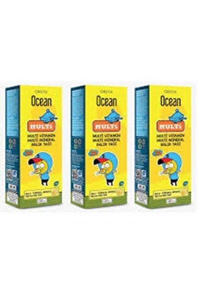 Ocean Multi Omega 3 Kral Şakir 150 ml Şurup