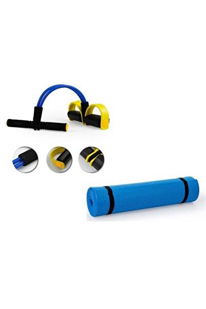 ZEN STYLE Body Trimmer + Çift Taraflı Yoga Matı/pilates Minderi Hediyeli Egzersiz Seti