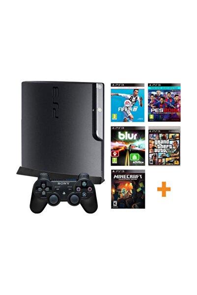 Sony Playstation 3 Yenilenmiş Oyun Konsolu + 10 Adet Digital Oyun