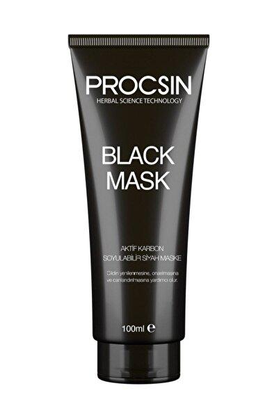 Procsin Aktif Karbonlu Soyulabilir Siyah Maske - Black Mask 100 Ml 8697863684472