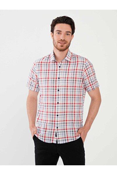 MCL Erkek Pamuk Slim Fit Ekoseli Gömlek
