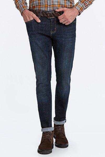Hemington Erkek Lacivert Denim Pantolon