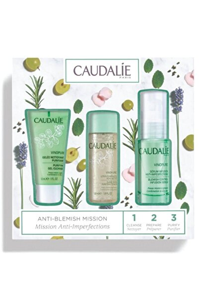 Caudalie Anti-blemish Mission Vinopure Serum Set