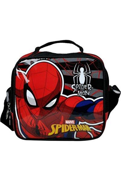 SPIDERMAN Siyah Kırmızı Spiderman Beslenme Çantası 96624