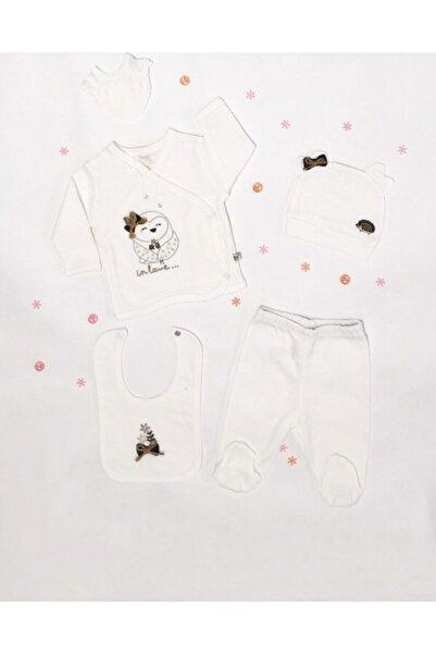 İmaj Bebek Beyaz Organik Yeni Doğum 5 Li Set
