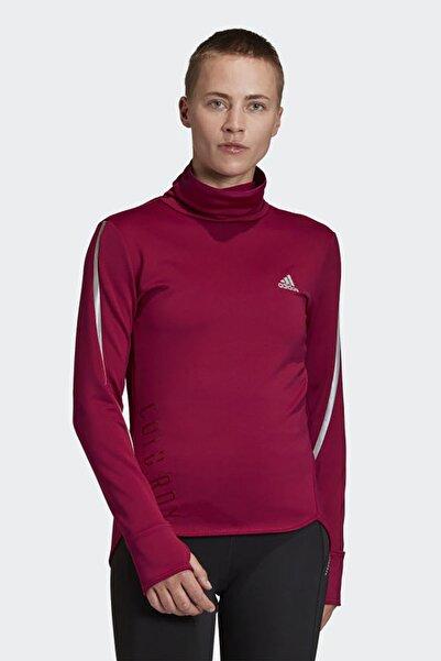 adidas Kadın Bordo Koşu Yürüyüş Sweatshirt C.r Cover Up W Gc6686