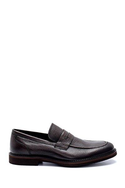Derimod Erkek Kahverengi Deri Klasik Ayakkabı