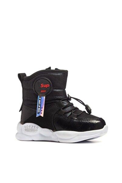 Twingo Çocuk Kışlık Içi Kürklü Siyah Bot Ayakkabı