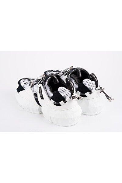 Jimmy Choo Erkek Beyaz Sneakers Ayakkabı