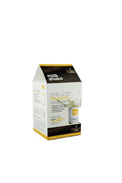 Milkshake Saç Boyası Orta Kestane - 04 Köpük 8681127021998