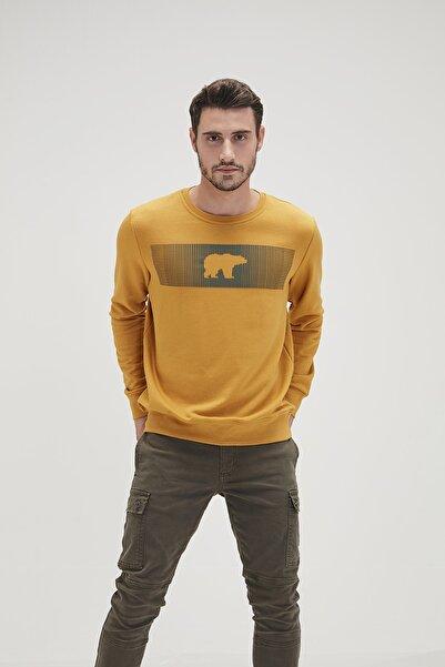 Bad Bear Erkek Sarı Fancy Sweatshirt